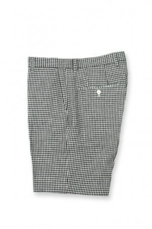GINGHAM HALF PANTS (DOTS)