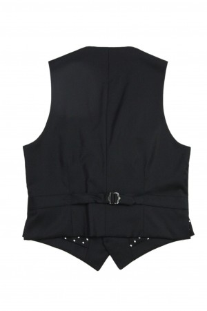TAILORED VEST(DOTS)