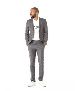 Advanced Check Suit Jacket