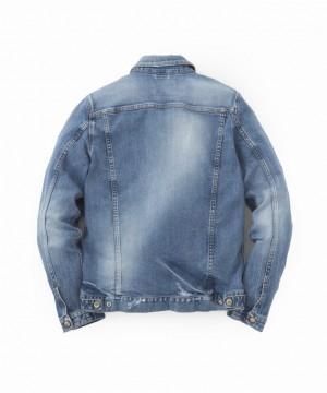 B.C. Stretch Damaged Denim Jacket