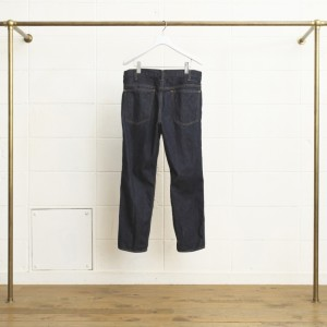 RIGID CROPPED DENIM PANTS