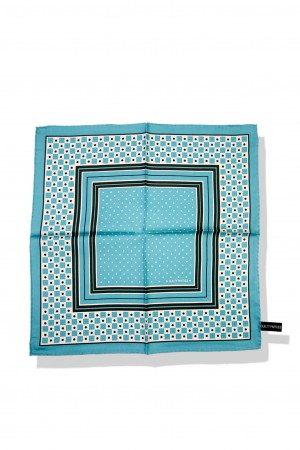 SQUARE DOTS POCKET CHIEF
