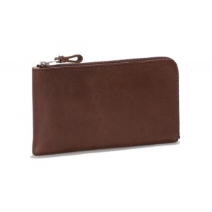 Shade Leather L Zip Wallet