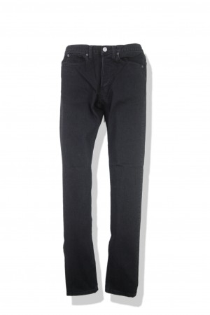 SLIM 5P DENIM PANTS(BLACK USED)