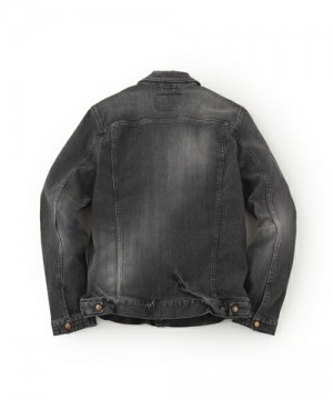 B.C. Stretch Damaged Denim Jacket