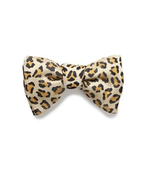LEOPARD BOW TIE