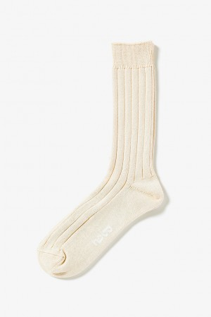 Cotton Rib Socks