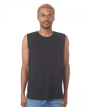 Cadet Sleeveless Pocket Tee