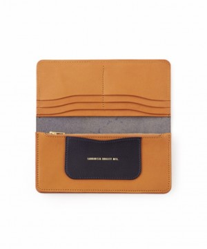 Daily Leather Long Wallet