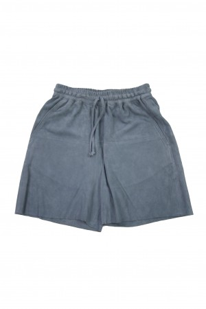 Suede Short Pants