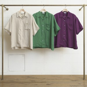 S/S OPEN COLOR SHIRT