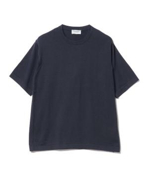 ハイゲージクルーネック ニットTシャツ