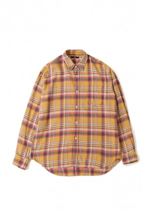 NEP FLANNEL CHECK SHIRTS