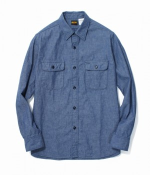 "50'S ""BIG YANK"" CHAMBRAY SHIRT"