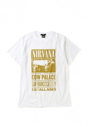 PRINT DAMAGE TEE/COW PALACE