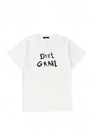 "Diet GRRRL"" PRINT TEE"