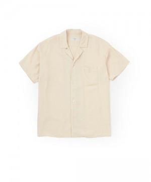 Open Collar Rayon Shirt