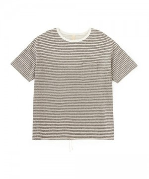 Easy Fit Pile Border Pocket Tee
