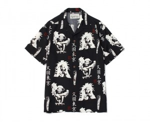 LEE PERRY × WACKO MARIA HAWAIIAN SHIRT