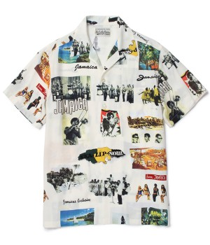 """KINGSTON JAMAICA"" S/S HAWAIIAN SHIRT"