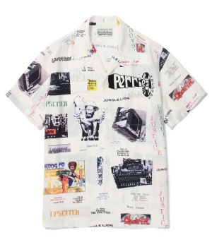 """LEE PERRY"" S/S HAWAIIAN SHIRT (TYPE-2 )"
