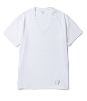 WASHED HEAVY WEIGHT V NECK COLOR T-SHIRTS(TYPE-2)
