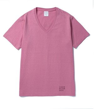 WASHED HEAVY WEIGHT V NECK COLOR T-SHIRTS(TYPE-1)