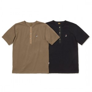 LUNA HENLEY NECK POLO