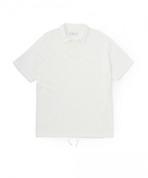 Overdyed Easy Fit Polo Shirt