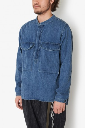 JEANS PULLOVER PACIFISM SHIRT