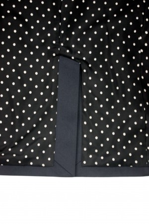 T/C UNCONSTRUCTED JACKET (DOTS)