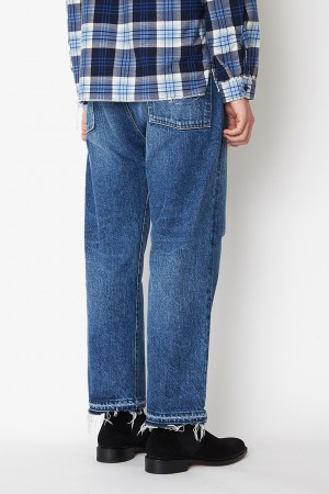 WIDE LEG RODEO JEANS