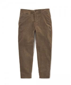 Velveteen Stretch Slim Pants