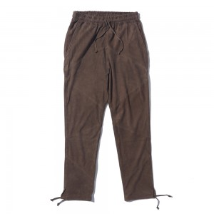 Suede Long Pants