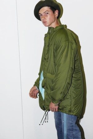 PADDED PACIFISM COAT