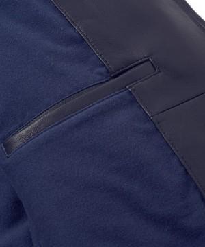 Stand Collar Waldes Zip Riders Jacket