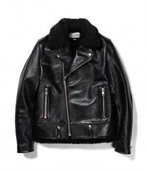 WACKOMARIA×T.NOGUCHI DOUBLE RIDERS LEATHER JACKET
