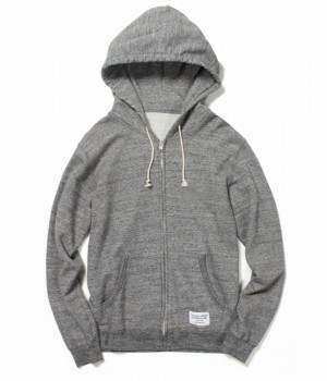 FULL ZIP HOODED SWEAT SHIRT ( TYPE-2 )