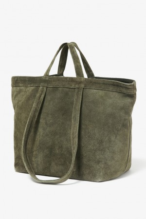 COW LEATHER 2WAT TOTE BAG L