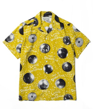 """MIRROR BALL""S/S HAWAIIAN SHIRTS"