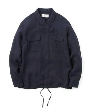 Linen Millitary Shirt