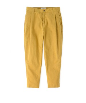 Hemp Tapared Ankle Cut Pants
