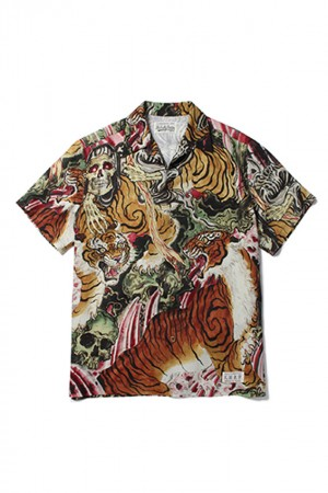 TIM LEHI × WACKO MARIA HAWAIIAN SHIRT