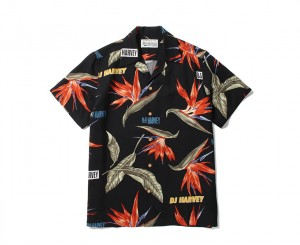 DJ HARVEY×WACKOMARIA HAWAIIAN SHIRTS(TYPE-2)