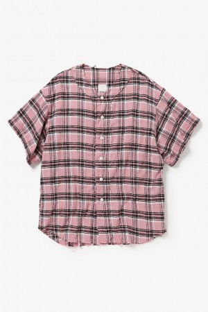 PLAID PLAY BALL SHIRT