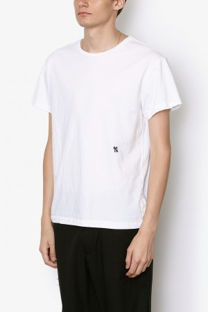 Y'S EMBROIDERED S/S TEE