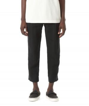Linen Easy Tuck Pants – Ankle Cut