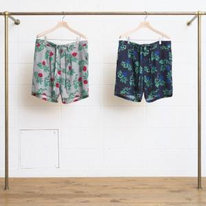 Rose Pattern Shorts