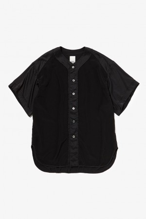 SATIN PLAY BALL SHIRT