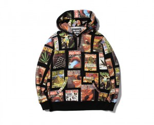 HIGHTIMES × WACKO MARIA HEAVY WEIGHT PULLOVER HOODED SWEAT SHIRT ( TYPE-1)